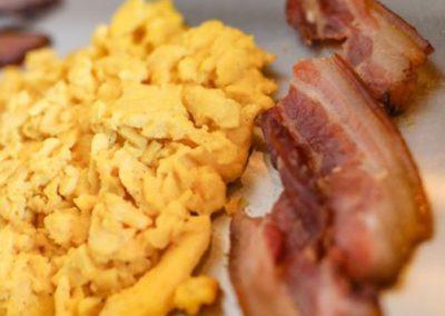 Oeufs bacon